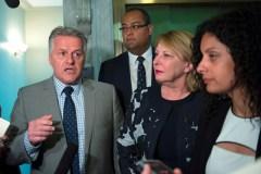 Le ministre Laurent Lessard traite un journaliste de «cave»