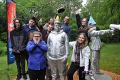 Une œuvre participative où la jeunesse est à l'honneur