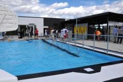 Une nouvelle piscine extérieure à Lebourgneuf