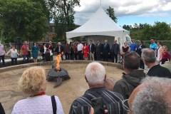 La place Onywahtehretsih inaugurée