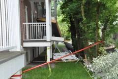 Effondrement de balcons d'un immeuble à condos de Québec