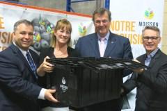 Moisson Québec élargit sa récolte de denrées en supermarché