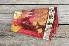 Rien de plus Canadien qu'un billet de 10¢