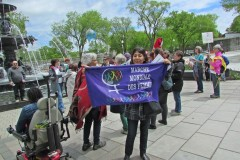 Mobilisation féministe pour une solidarité mondiale