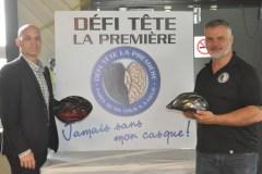Pédaler pour sensibiliser au port du casque à vélo