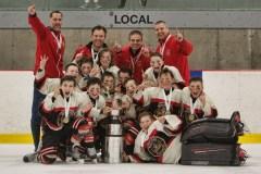 Hockey mineur: les Bulldogs impressionnent