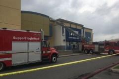 Incendie criminel au magasin JYSK de Duplessis