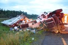Accident mortel sur l'autoroute 20
