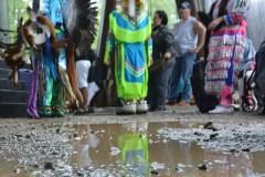 Le Pow Wow de Wendake fait fi de la pluie
