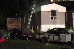 Un incendie endommage lourdement une maison mobile de Beauport