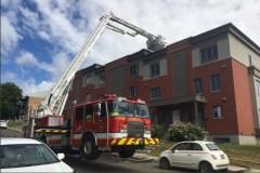 Un incendie dans le secteur de Beauport