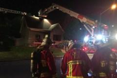 Incendie à Beauport: un homme transporté à l'hôpital