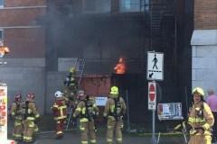Incendie à l'Institut universitaire de cardiologie et de pneumologie