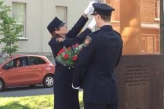 Cérémonie de commémoration des pompiers morts en devoir