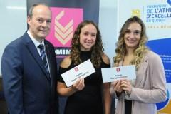 Quatre étudiants-athlètes de Québec récompensés