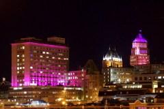 Québec ville en rose: Pour faciliter la route vers la guérison