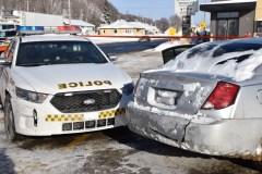 Poursuite policière à Québec