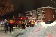 Incendie dans un immeuble résidentiel de la 24e Rue