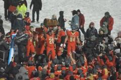 Le Rouge et Or remporte la Coupe Dunsmore