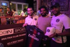 Fan-club du Paris Saint Germain à Québec