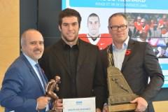 Honneurs individuels du circuit de football universitaire québécois