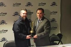 Martin St-Louis possède maintenant son trophée