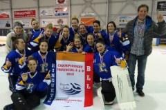 Championnes provinciales de ringuette