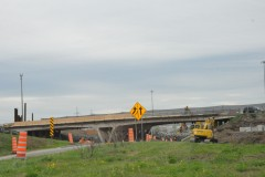 Deux ans de travaux sur l'autoroute Félix-Leclerc