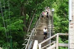 Un autre succès pour le Défi des escaliers