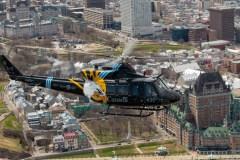 Les Snowbirds et des hélicoptères de Valcartier voleront au-dessus de Québec