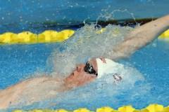 Nicolas-Guy Turbide s'impose encore à la piscine