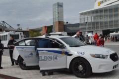 Le travail des policiers montré aux enfants